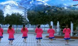 肥矿集团青馨明月广场舞《雪山姑娘》编舞花语