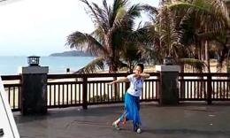 刘丽新广场舞《雪山姑娘》编舞格格 正背面演示