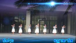 临安飞翔广场舞《在水一方》编舞艺子龙 团队演示