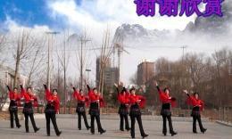 河北舞动文安广场舞《雪山姑娘》编舞青儿 团队演示
