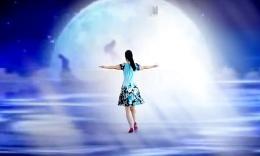 一帘广场舞《老家的月亮》编舞格格 正背面演示