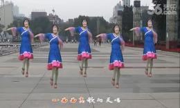 全椒管坝凤妹广场舞《草原妹妹》正面演示教学
