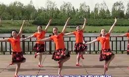 北京加州广场舞《飞去的蝴蝶》编舞宁宁 团队演示