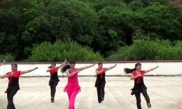 婷婷飛舞廣場舞《張燈結彩》編舞劉榮 團隊演示