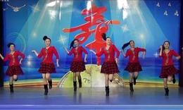 格格加州广场舞《今年最特别》编舞格格 团队正背面及分解演示