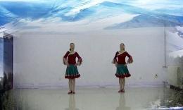 千千舞情广场舞《美丽的雪山姑娘》