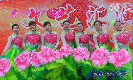 重庆叮叮广场舞《共圆中国梦》原创