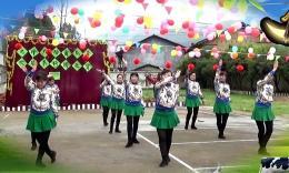 千香茗秀广场舞《草原的月亮》编舞応子 团队演示