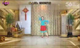 戴儿广场舞《美丽的雪山姑娘》编舞:重庆叶子