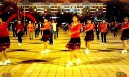珲春金达莱广场舞 美丽的雪山姑娘