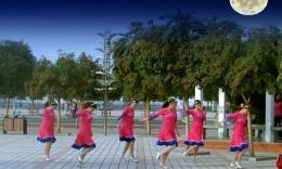 肥矿集团青馨明月广场舞《草原的月亮》编舞応子