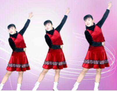 太湖一莲舞蹈《火火的中国火火的时代》口令分解动作教学