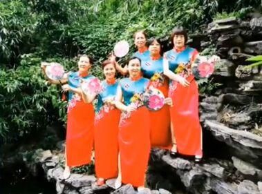 愛舞的心廣場舞《紅棗樹》完整版演示及口令分解動作教學
