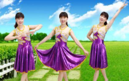 小白楊廣場舞《你是我紅塵中最美的緣》口令分解動作教學