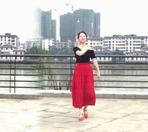 自信的微笑廣場舞《站著等你三千年》完整版演示及分解教學演示