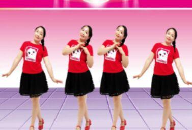 紫怡然舞蹈《你笑起来真好看》正背面演示及口令分解动作教学