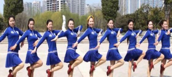 美久舞蹈《凤凰飞》附正背面口令分解教学演示