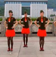 吉美廣場舞《情歌賽過春江水》完整版演示及口令分解動作教學