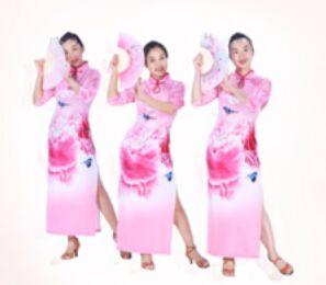 糖豆廣場舞課堂《旗袍美人》附正背面口令分解教學演示
