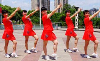 吉美廣場舞《夢中的媽媽》完整版演示及口令分解動作教學