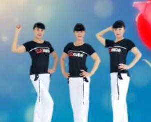 吉美廣場舞《花一樣的姑娘》經典正背面演示及口令分解動作教學