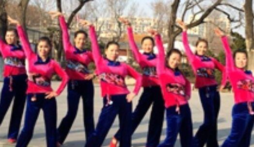 刘荣舞蹈《不怕错》附正背面口令分解教学演示