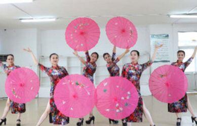 刘荣舞蹈《十里桃花湾》附正背面口令分解教学演示