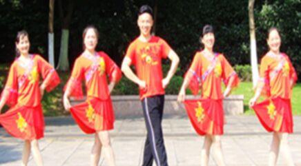 楠楠舞蹈《无情的世界有情的你》口令分解动作教学演示