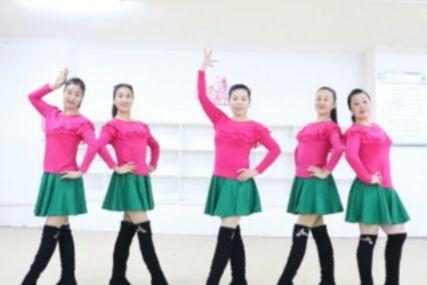刘荣舞蹈《美丽的中国我们的家》附正背面口令分解教学演示