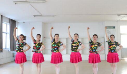 刘荣舞蹈《没有共产党就没有新中国》完整版演示及分解教学演示