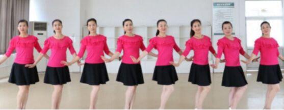 刘荣舞蹈《野花香》附正背面口令分解教学演示
