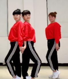 段希帆廣場舞《那個人》正反面演示及分解動作教學