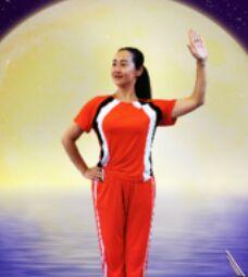 應子廣場舞《天蓬大元帥》正背面演示及口令分解動作教學