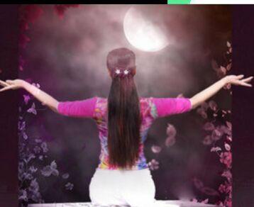 山东莲雨荷舞蹈《落花的窗台》附正背面口令分解教学演示