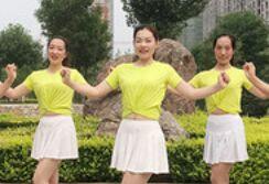 林州芳心舞蹈《大笑江湖》正反面演示及分解动作教学