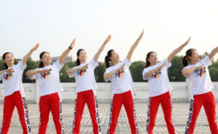 云裳舞蹈《潇洒走一回》经典正背面演示及口令分解动作教学
