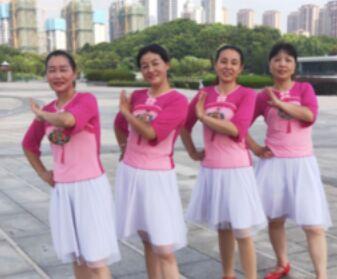 江南雨舞蹈《美丽的七仙女》完整版演示及分解教学演示