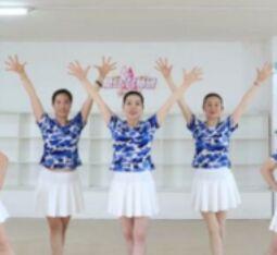 刘荣舞蹈《我们走在大路上》附正背表演口令分解动作分解教学
