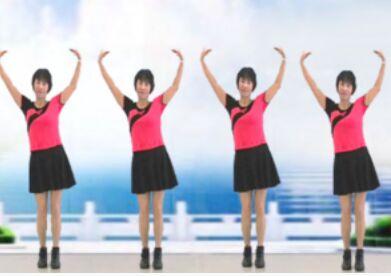 雪儿c舞蹈《爱情的力量》正背面演示及口令分解动作教学