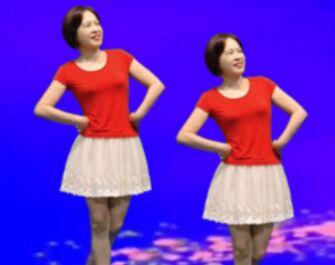 日月同辉舞蹈《野花香》原创附正背面教学口令分解动作演示