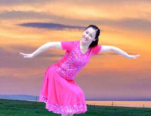 应子舞蹈《兴安四韵》正背面演示及口令分解动作教学