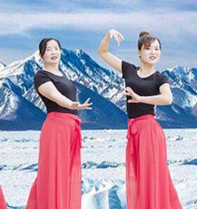 银河湾舞蹈《想你念你》原创附教学口令分解动作演示