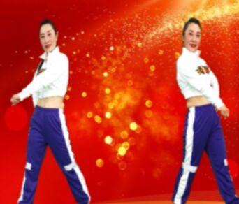 晓杰鬼步舞《中国战场》原创附正背面教学口令分解动作演示