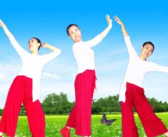 济南朵朵舞蹈《多年以后》经典正背面演示及口令分解动作教学