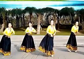 芳華歲月廣場舞《情歌的故鄉》完整版演示及口令分解動作教學