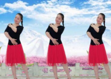 圆月如歌舞蹈《千丝网》附正背面口令分解教学演示