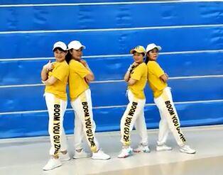 正点舞蹈《耶耶耶》正背面演示及口令分解动作教学和背面演示