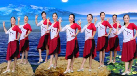 芳华岁月舞蹈《我们的祖国歌甜花香》口令分解动作教学演示