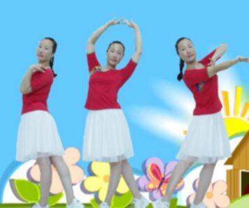 巨鹿霓裳依依舞蹈《万爱千恩》原创附正背面教学口令分解动作演示