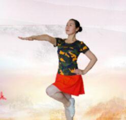 應子廣場舞《特戰女兵》附正背表演口令分解動作分解教學